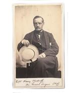 Antique Photograph CDV Civil War Captain Harry Woodruff - $296.01