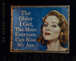 Wall Decor; Older and wiser! - $44.95