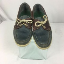Cole Haan Mens Loafers Slip on Size10 M  Brown Gray Shoes - $19.45