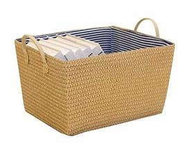 Black Temptation Rectangle Household Storage Basket Storage Containers S... - £26.18 GBP