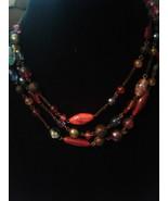 Avon Glass Bead Antique Style Necklace - $35.00