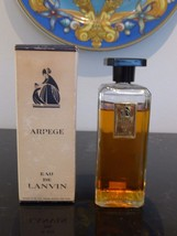 VINTAGE 4 OZ. ARPEGE EAU DE LANVIN IN ORIGINAL BOX - $129.00