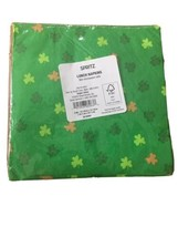 St Patrick's Day Irish Green Shamrock Paper Napkins Party Supplies 1 pack of 20 image 2