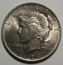 1924 Peace Silver Dollar Coin - Lot # A 1917
