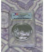 2010 PCGS MS69 DMPL FS Yosemite 5 OZ .999 SILVER Coin America The Beautiful - $303.76