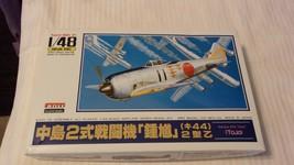 1/48 Scale ARII Models Japanese Nakajima Ki44 Tojo Airplane Kit BNOS #32... - $37.13