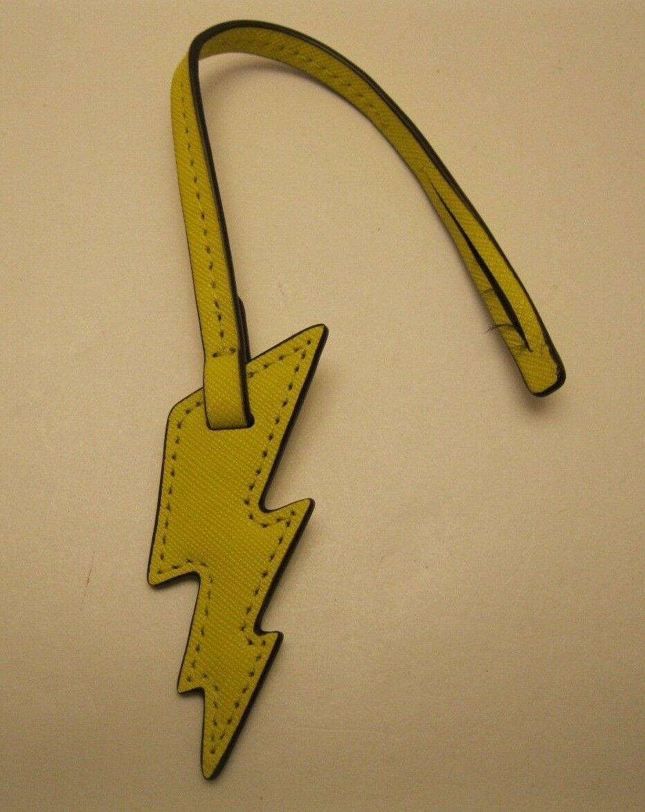 Primary image for Purse charm Michael Kors $28 ReDuCeD pRiCe Leather Lightening Bolt Charm NWT K15