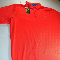 UA - Under Armour Golf - Short Sleeve Polo Shirt - XL - Loose Fit - Neon... - $34.64
