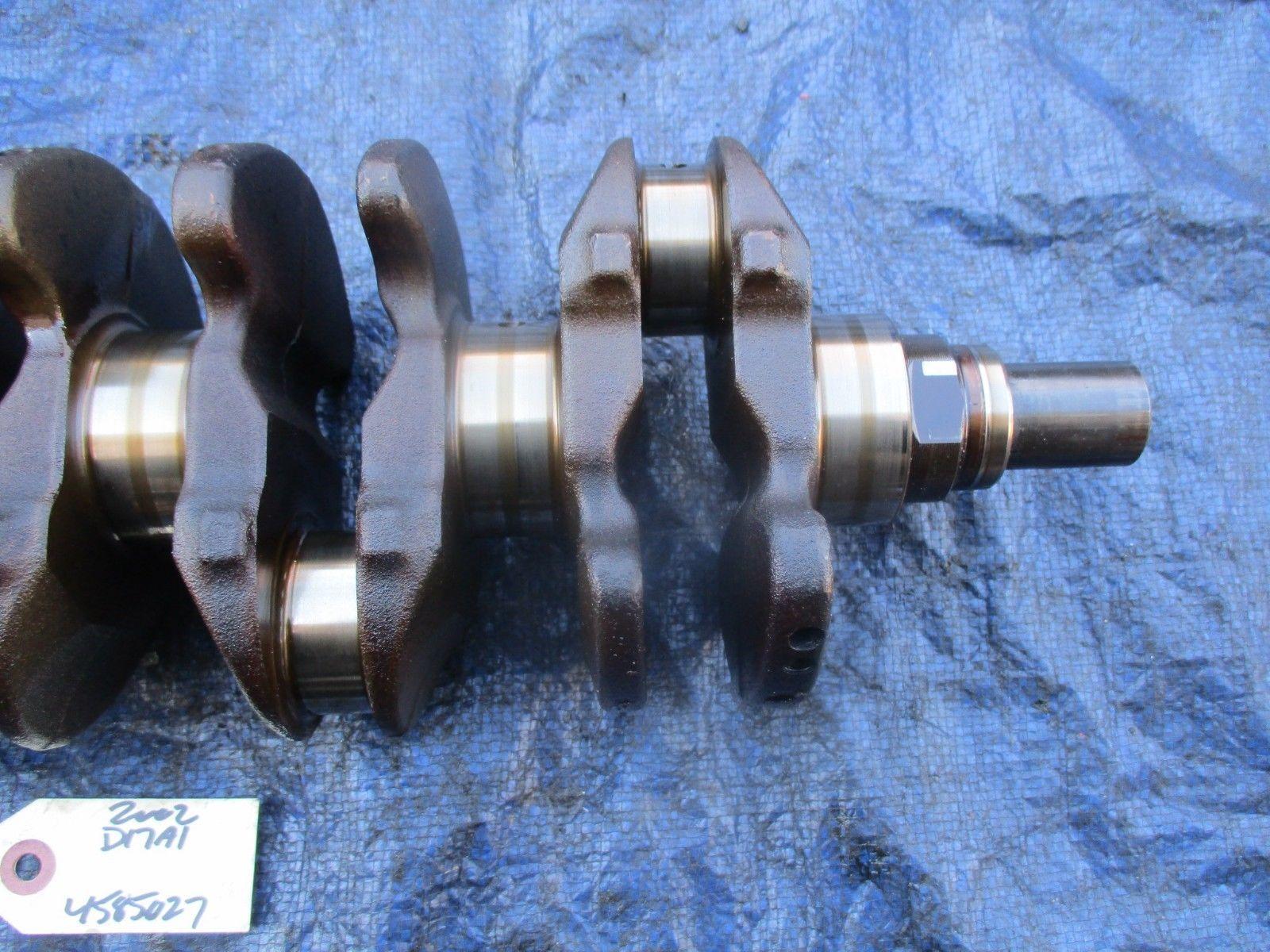 01-05 Honda Civic D17A1 engine crankshaft assembly engine motor D17 OEM crank