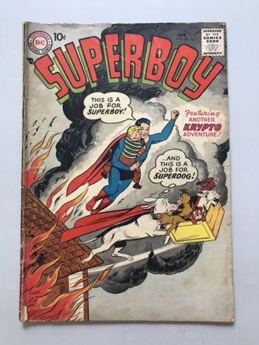 Superboy (1949-1979 1st Series DC) #56