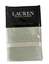 Ralph Lauren Lakeview light green Linen Euro Pillow Sham retail $135 - $58.58