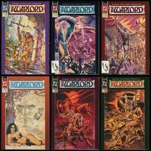 The Warlord Comic Set 1-2-3-4-5-6 Lot DC Comics 1992 Mini-Series Mike Grell art - £24.11 GBP