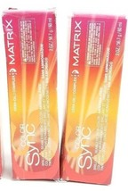 2 Matrix Color Sync Seamless Creme Demi-Color Ammonia Free 4G Dark Brown... - $11.87