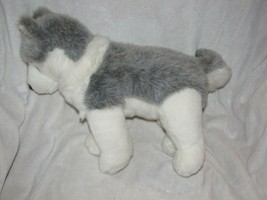 """Ty Vintage Classic 1993 Large 20"""" Plush TIMBER Wolf Husky White Gray - $29.69"""