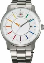 Orient Watch Standard Stylish Smart White Rainbow WV0821ER Silver - $223.24