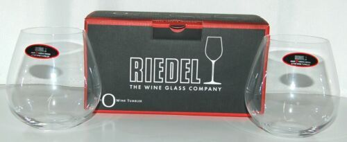 Riedel 041407 Pinot Nebbiolo Red Wine Tumblers Set of Two Crystal