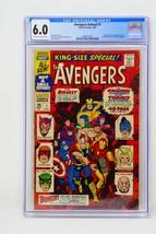 Marvel Comics 1967 Avengers Annual #1 CGC 6.0 Fine - $142.49