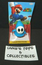 "World of Super Mario Nintendo Light-blue Shy Guy 2.5"" Action fig Jakks P... - $18.98"