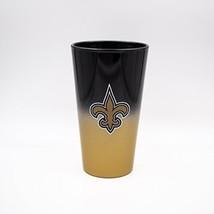 NFL New Orleans Saints Color Chrome 17 oz. Pint Glass Tumbler - $19.95