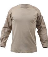Desert Sand Solid Tactical Heat Resistant Lightweight Combat Shirt - $43.99+