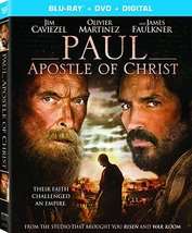 Paul, Apostle of Christ (Blu-ray + DVD + Digital HD)