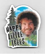 Bob Ross The Joy of Painting Happy Little Trees Chunky Die-Cut Magnet NE... - $5.94