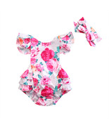 Pudcoco Adorable Newborn Kids Baby Girl Clothes Floral One Piece Romper ... - $9.39