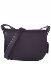 Coach Small Women's Leather 18 Saddle Bag, Dark Antique Nickel, Navy, OS - $128.69