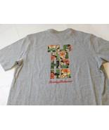 Tommy Bahama Hommes Manches Courtes T Shirt S Petit Alo Ho Ha 059 Gris C... - $29.31