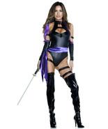 Forplay Karate Chop Sexy Ninja Bodysuit Adult Womens Halloween Costume 5... - £52.19 GBP