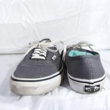 Vans Gray Classic Sneakers Shoes Men's Size 6 Women's Size 8 EUR 38.5 Lace Up image 6