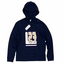 Lacoste Men's Hooded T-Shirt Blue Graphic Print Long Sleeve Lightweight ... - $54.99
