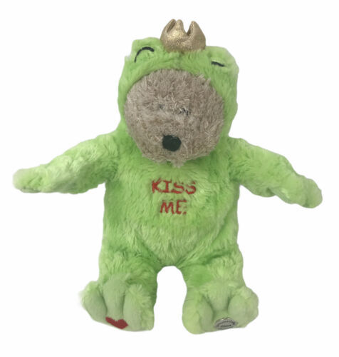 Starbucks Bearista Bear Plush 29th Edition 2004 Kiss Me Frog Prince Bear - $12.38