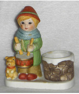Candle Holder NOEL DRUMMER BOY 1980 NIB - $19.99