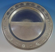 "Rose Point by Wallace Sterling Silver Tray Round 14"" (#1145) Serving - $908.10"
