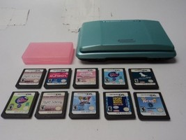 Nintendo DS bundle with 10 games Handheld System free shiping - $49.49