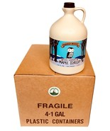 Bulk Maple Syrup - Four 1 Gallon Jugs VT Maple Syrup - Dark Robust - Who... - $179.95