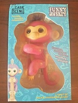 Case Scene RARE PINK funny Monkey with purple hair - lots of fun - $10.70