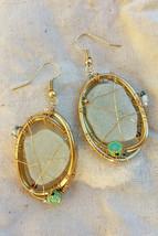 Pgc white oval earrings thumb200