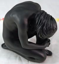 Studio Collection Nude Crouching Female Figurine Ebony Finish Veronese i... - $29.99