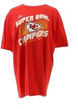NFL Super Bowl LIV Chiefs Player Roster T-Shirt Chiefs XL NEW A382308 - $26.71