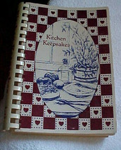 Kitchen Keepsakes -recipes for home cookin'--vintage cookbook-1985-4th p... - $6.03