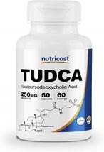 Nutricost Tudca 250mg, 60 Capsules (Tauroursodeoxycholic Acid) - Premium... - $113.20