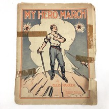 1915 My Hero March Sheet Music Ellis Parker Antique - $19.75