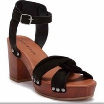 Lucky Brand Hannela platform wooden sandal size 7 - $42.08