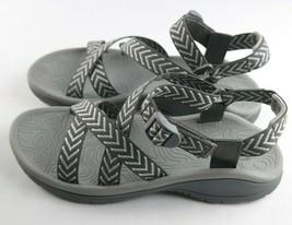 Jambu J Sport Niagara Sandals Womens Sz 9.5 M Grey Slingback Shoes - $27.00
