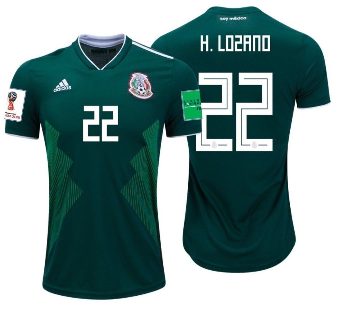 5b6738a6f Adidas Hirving Lozano Mexico Home Jersey and 50 similar items. S l1600