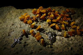 Guardian Angel Ability To Contact Angels Haunted Rosary Amber Prayer Beads Izida - $252.00