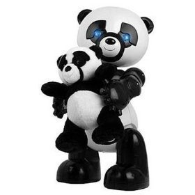 Electronic Robot Panda with Baby Panda