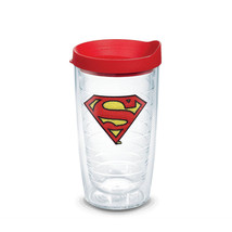 Superman Emblem Tumbler with Lid 16 oz Tervis®  - $26.98